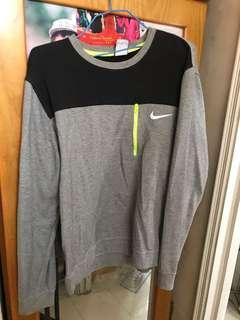 環保價nike pull over grey hoodie灰色衛衣
