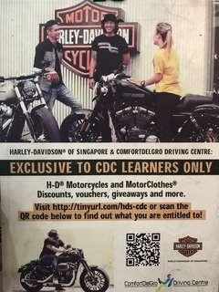 HARLEY-DAVIDSON CDC LEARNERS ONLY
