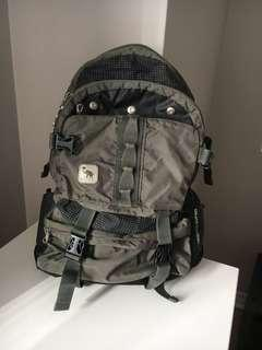 OIWAS green backpack