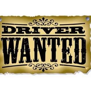 Part time Driver Wanted