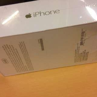 Brand new iPhone 6 64gb. No warranty