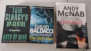 David Baldacci the sixth man arts of war fortress book