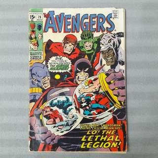 Avengers #79 - Second Appearance of The Lethal Legion