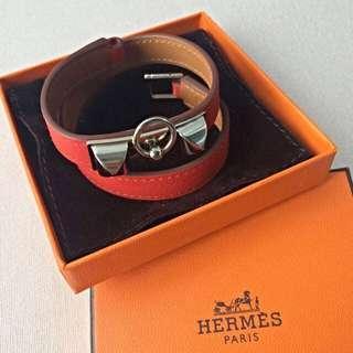 Authentic Hermes Double Tour Rivale Bracelet