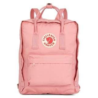 Fjallraven Kanken Classic School Bag Backpack in Pink [Instock!!]