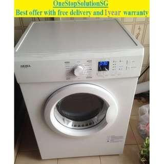 Brand New Akira (7.0kg), Air Vent Dryer ($320 + free delivery and one year warranty