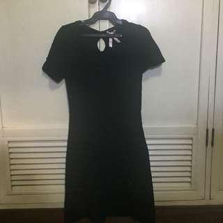Short Black Knit Dress