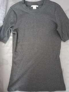 🚚 可換物全新H&M細條上衣XS號