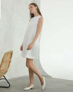 This is april white dress