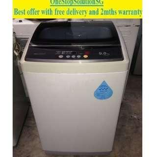 Sharp (9.0kg), washing machine/ washer ($220 + free delivery and 2months warranty)