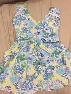 Forever 21 Detachable Tropical Top and Skirt