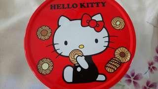 🚚 (免運費)日本製Hello Kitty凱蒂貓熱門收藏品小圓鐵盒超可愛下標現賺80元
