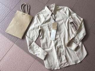 Authentic Burberry women shirt with tag