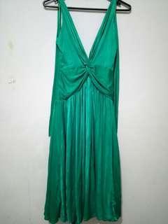 MANGO open back dress