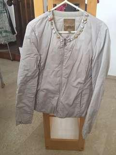 Conbipel autumn jacket in light grey