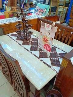 Meja makan kayu jati nya bisa cicilan tanpa kartu kredit