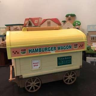 Sylvanian burger wagon
