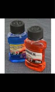 70ml Shimano/Magura Mineral Oil For Shimano, Magura, Tektro (M9020 M9000 M8000 M7000 M785 M675 M615 M447 M315)