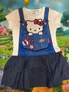 🚚 Bossini Hello Kitty Dress