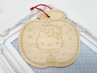Hello Kitty 🎀 許願排牌 DIY 心意卡 掛件 裝飾 sanrio 紀念 限量 禮物 吉蒂貓 貓咪 蘋果