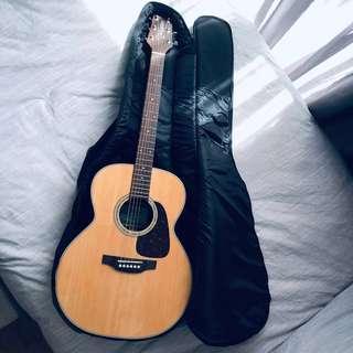 Takamine D5N-Natural Acoustic Guitar