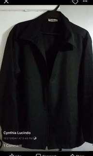 Black coat blazer
