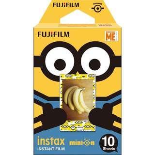 (CNY SALE) BRAND NEW FUJIFILM INSTAX MINION FILM STANDARD FILM FOR INSTAX MINI CAMERAS