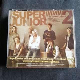 Super Junior 2nd Album Don't Don