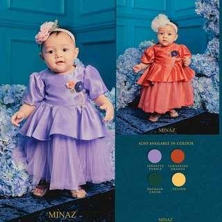 Minaz Baby Qaisara Dress #CNYBABIES