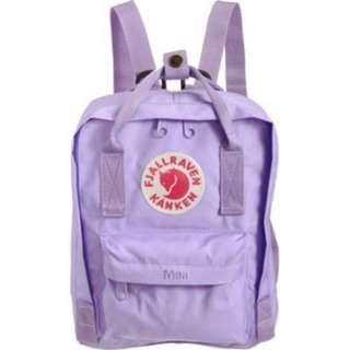 [Instock!!]Fjallraven Kanken Classic School Bag Backpack in Lavender/Lilac/Light Purple