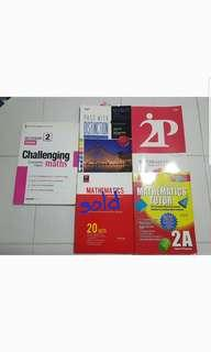 Lower secondary maths assesment book bundles
