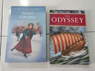 Children books the Odyssey eight cousins puffin classics