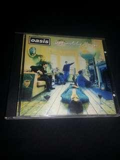 CD Oasis. DEFINITELY MAYBE. Imported