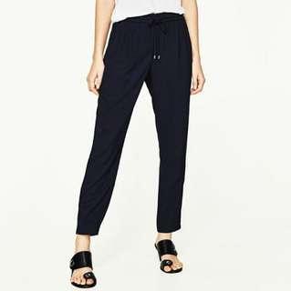 blue pj slack trouser pants
