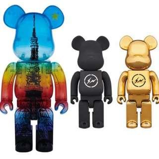 New 400% Tokyo Tower Magic Time to trade with 400% Conveni Bearbrick