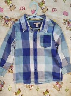 Esprit long sleeve Boy Shirt 24 months