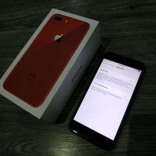 Iphone 8 plus 64 GB (RED) W Apple Warranty