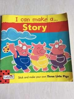 #Blessing : I can make a story .. three little pig