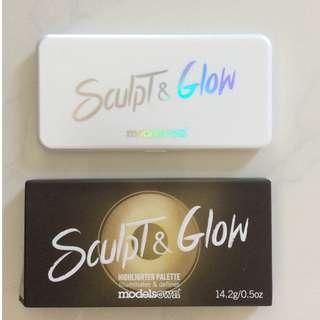 Models Own Sculpt & Glow Highlighter Palette
