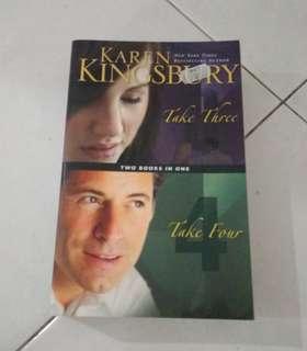 Karen Kingsbury take three take four English novel