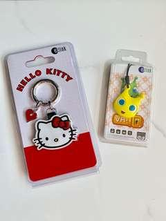 🚚 RARE LTA VR-10 & Hello Kitty EZ-Link Charms