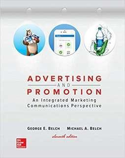 NM3215 Advertising and promotion : an integrated marketing communications perspective