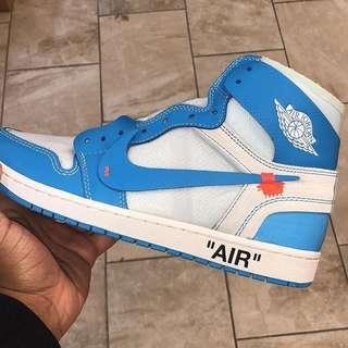 OFFWHITE x Air Jordan 1 UNC