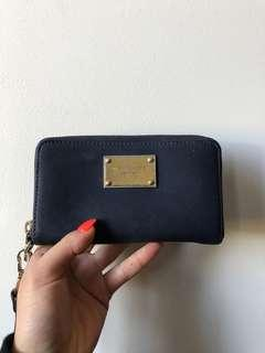 MICHAEL KORS - Navy Wallet