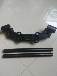 Woodcraft Clip-on bar for MT09 / XSR900