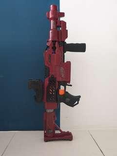 Nerf Stryfe Crimson Red Mod