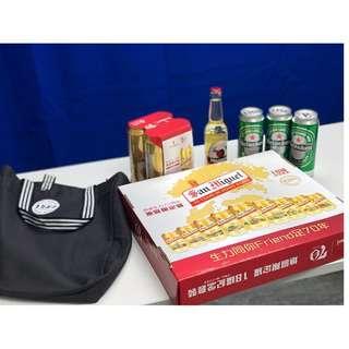 生力70周年地區限定罐 18罐紀念套裝 San Miguel Heineken Magners Beer