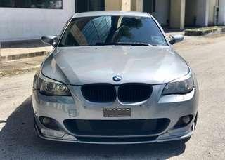 "SEWA BELI  BMW 523i E60 YEAR 2006/2007 MONTHLY RM 1330 BALANCE 2 YEARS + ROADTAX APR 2019 LEATHER SEAT SPORTRIM 19"" REVERSE CAMERA TIPTOP CONDITION  DP KLIK wasap.my/60133524312/e60"