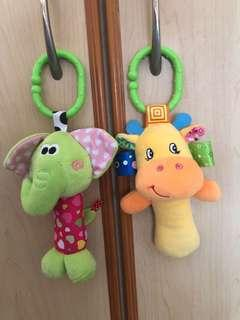 Baby Toy Soft Rattles