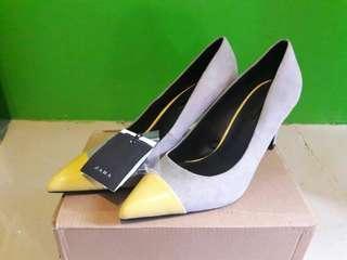 Zara heels wanita